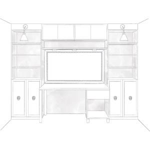built-in-Desk