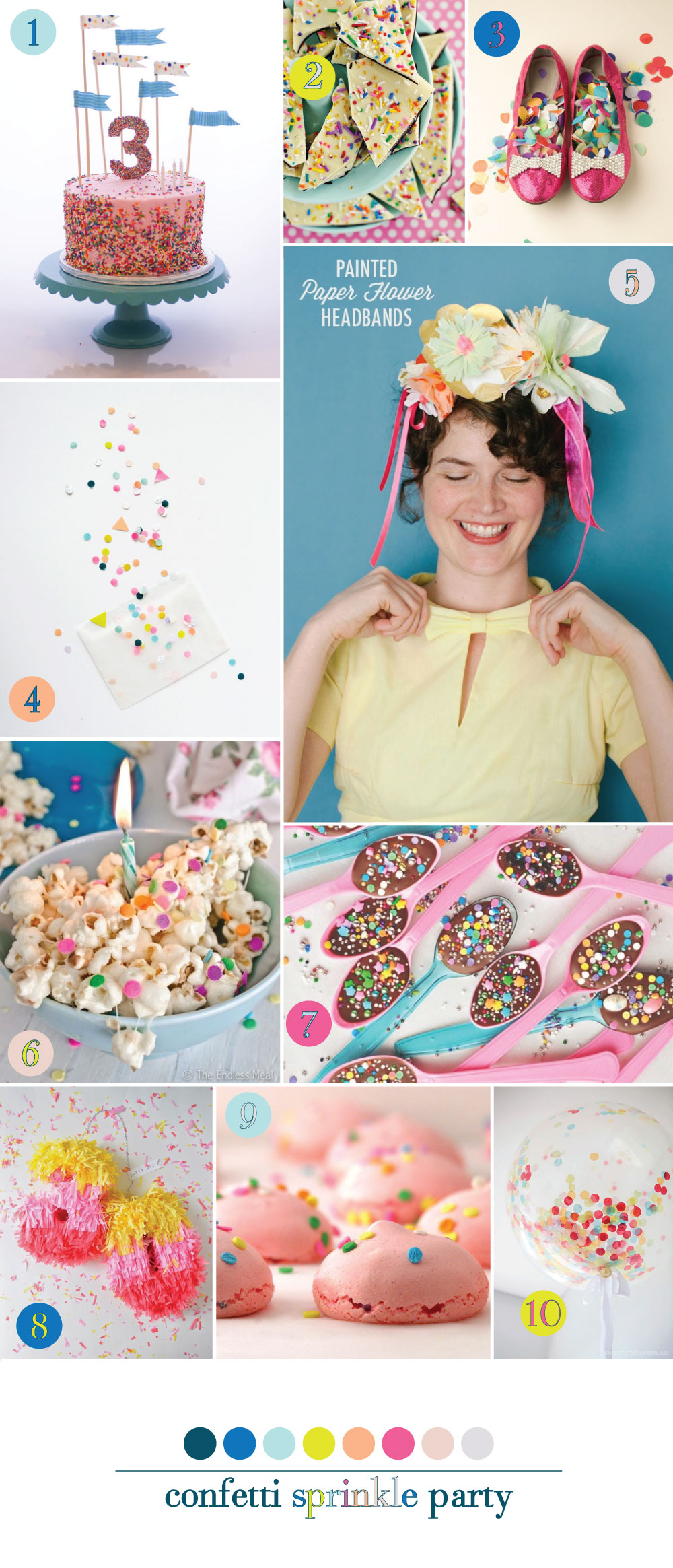 Confetti Sprinkle Inspiration Board