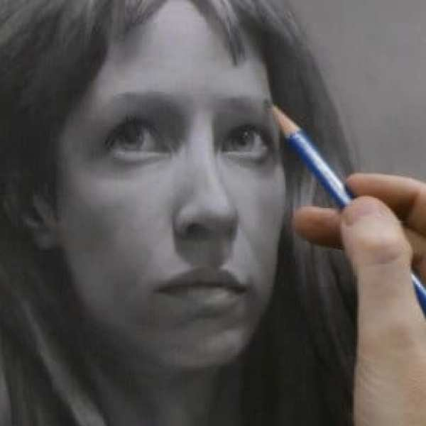 Portrait Drawing Demo by David Jamieson