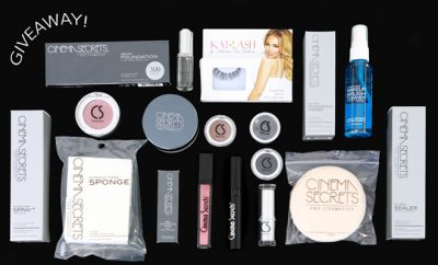 cinema secrets cosmetics giveaway