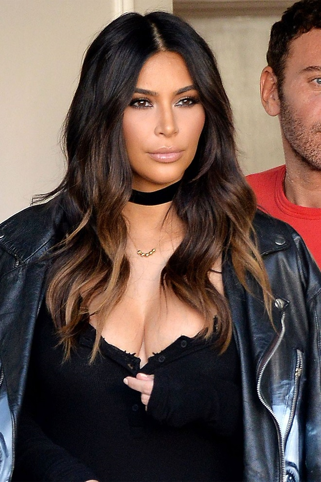 Ombre Hair Looks We're Loving Kim Kardashian