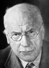 Carl Gustav Jung, Swiss doctor and shrink who originated psychoanalysis.