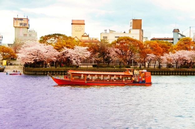 Kema Sakuranomiya park, Osaka