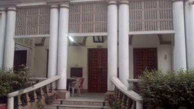 Entrance to Hyderi Mansion
