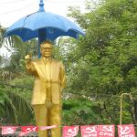 This Ambedkar statue was installed after extensive mobilisation