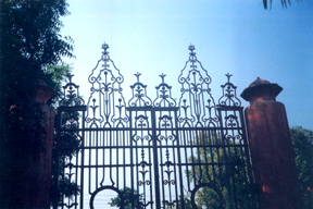 Two bizarre gates