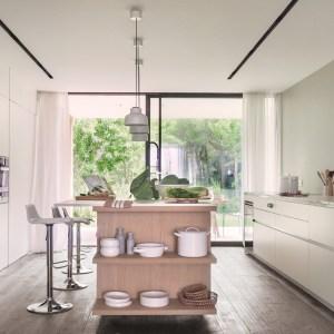 interiorismo diseno villa cocina