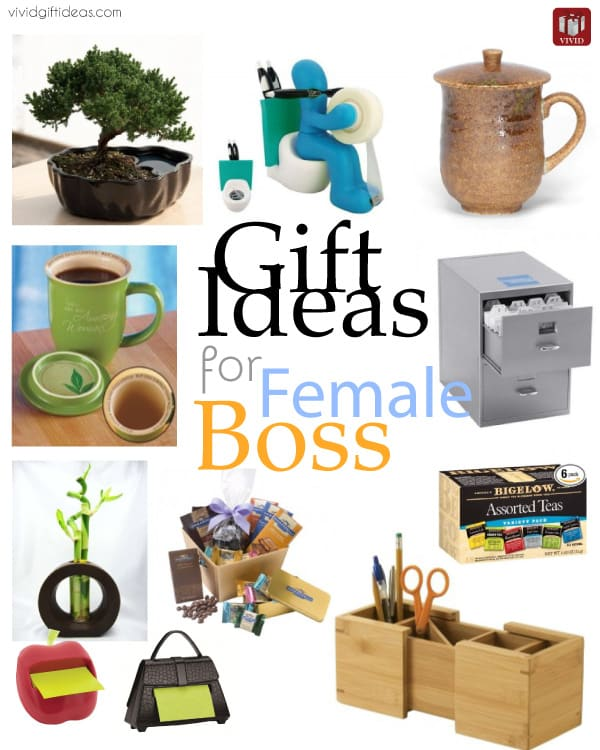 10 Gift Ideas for Your Female Boss