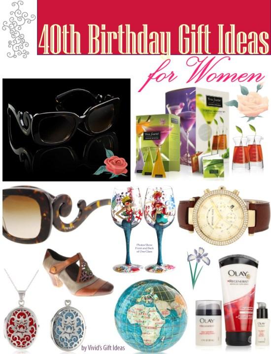 40th Birthday Gift Ideas For Women Vivid 39 S