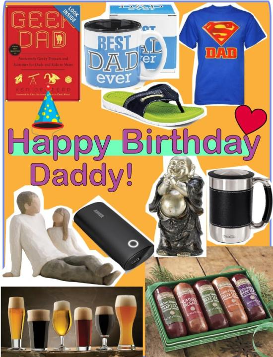 10 Great Gift Ideas for Dad's Birthday
