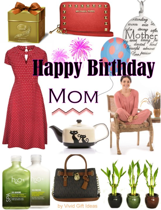 Gift Ideas for Mom's Birthday