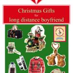 Christmas Gifts for Long Distance Boyfriend
