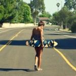 Quest Super Cruiser Artisan Bamboo Skateboard