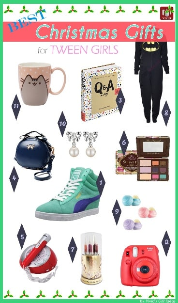 Holiday gift guide for tweens vivid s