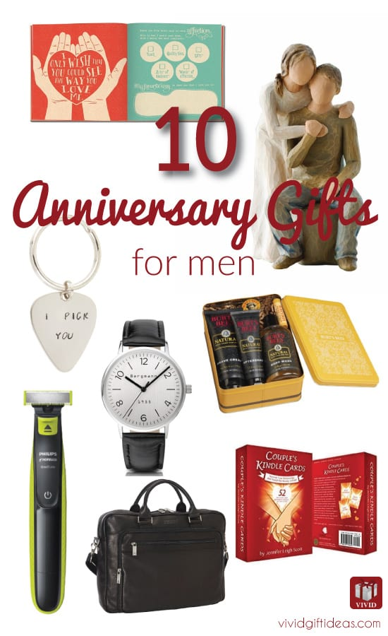 Top 10 anniversary gift ideas for men vivid 39 s for What is the best anniversary gift
