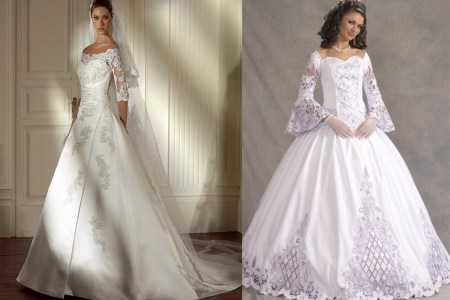 clic wedding gown styles