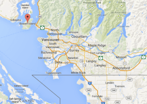 Bowen Island à proximité de Vancouver