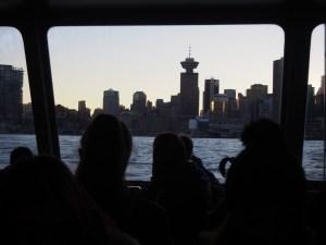 Retour sur Vancouver - Seabus