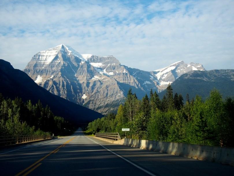 Mont Robson dans les rocheuses canadiennes