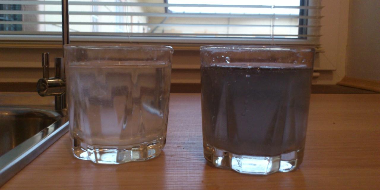 Aktívszenes víztisztító hiba