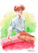 2014. Watercolor.