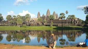 Angkor Wat. Siem Reap. Cambodia. November 2016. Galaxy S4.
