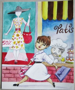 2010. Farewell card for Mary.