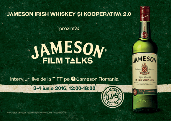 Jameson Film Talks – Interviuri live de la TIFF 2016