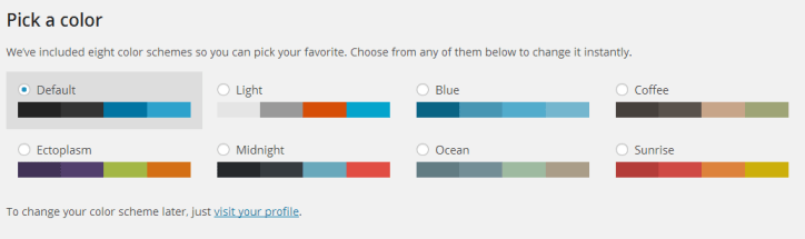 colour picker What new features does WordPress 3.8 give us?