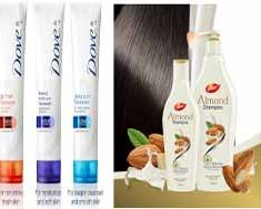 Get Free Sample of Dove Face Wash , Almond Shampoo