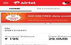 airtel free 300mb data