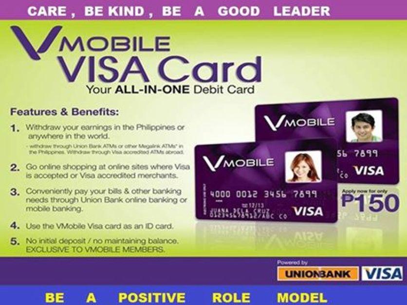 vmobile visa card