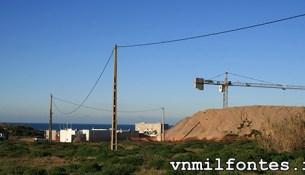 construção nova ETAR de Milfontes