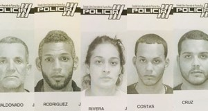 Las cinco personas atrapadas enfrentaban órdenes de arresto.