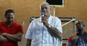 Diego Meléndez participó de un encuentro de glorias del baloncesto que han dejado huella en los Leones de Ponce.