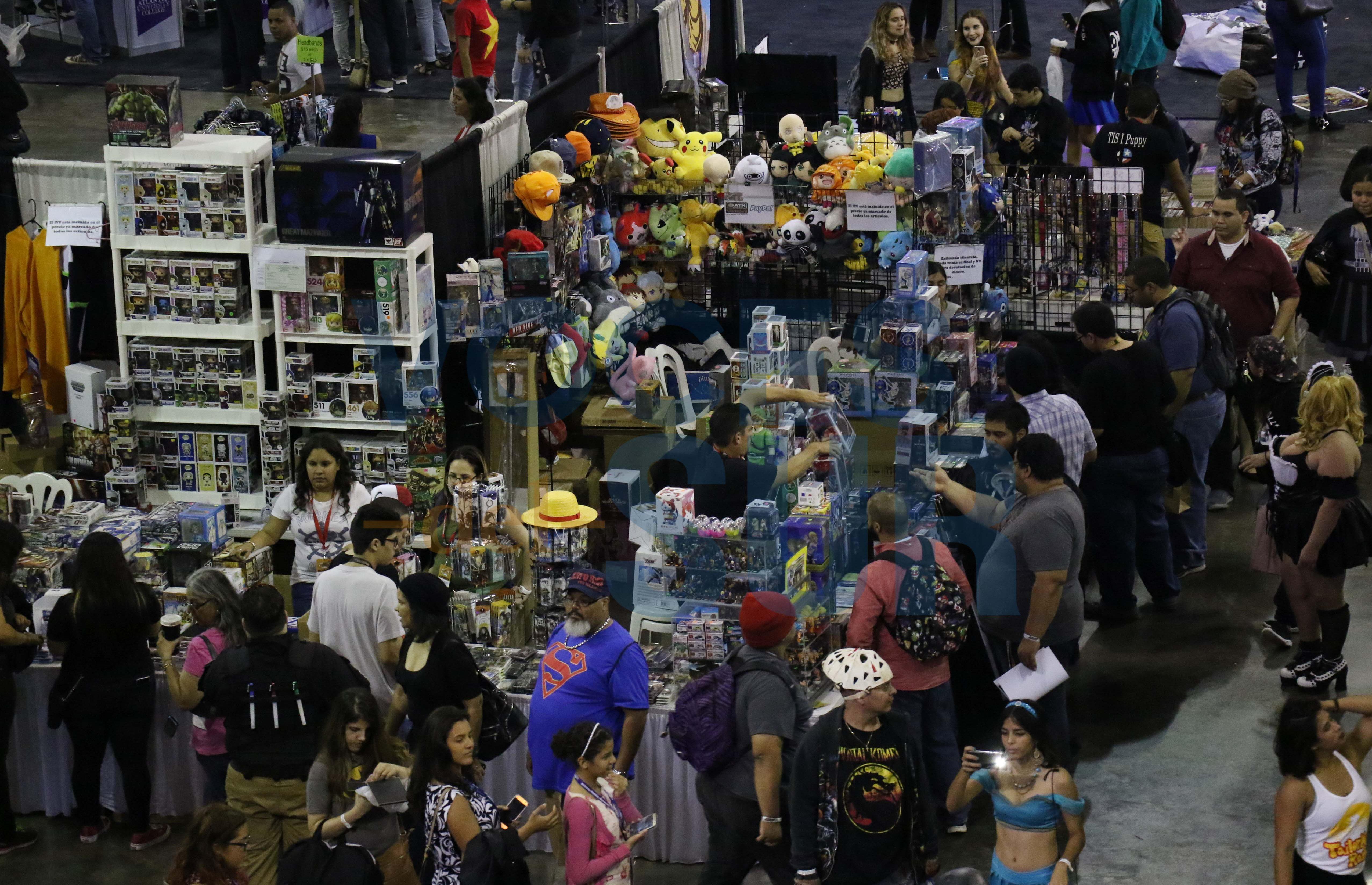 El público dio rienda suelta a su imaginación durante el Puerto RIco Comic Con.