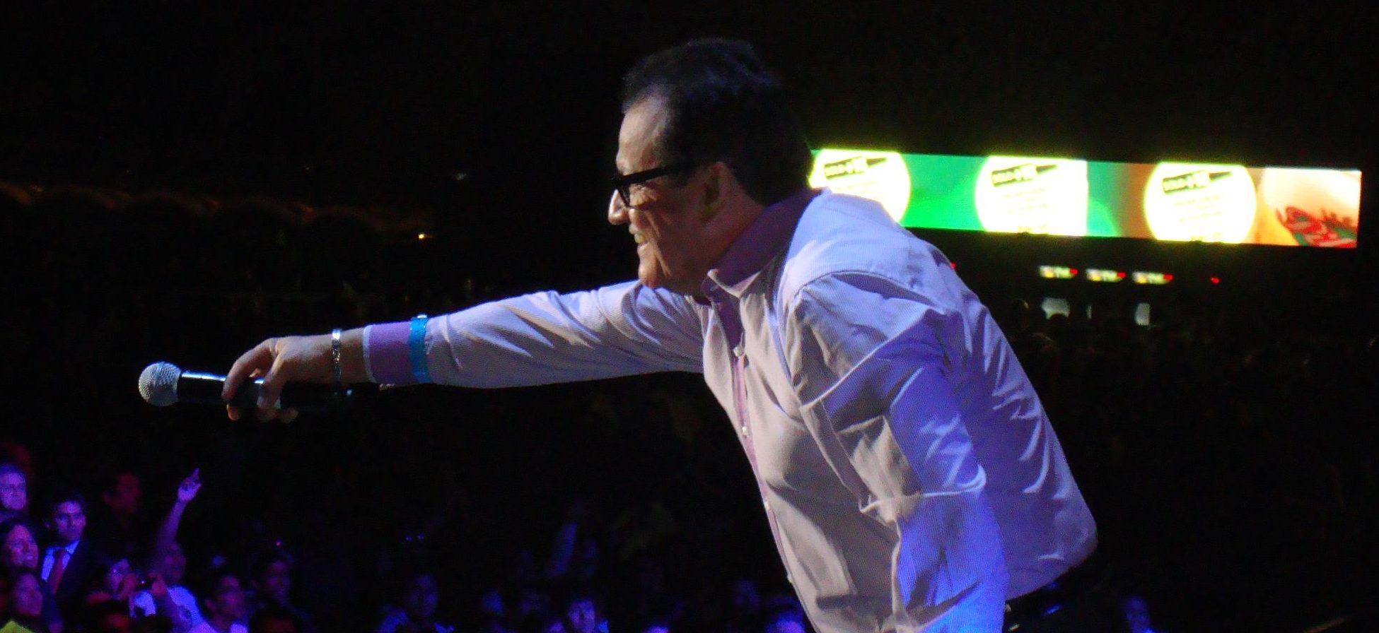 Ismael Miranda es una de las figuras principales del género de la salsa.