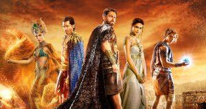 Afiche del filme Gods of Egypt.