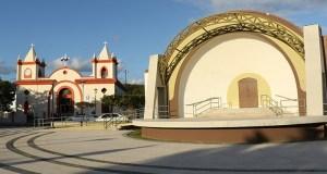 Plaza de recreo de Guayanilla.