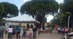 Plaza Las Delicias de Salinas.