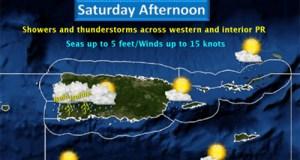Pronóstico del tiempo para el 20 de agosto.