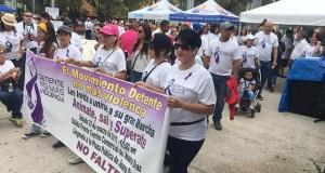 El movimiento Detente, no más violencia, surgió a raíz del asesinato de Arelis Suárez Santiago. (Facebook / Ramoncito Hernández Alcalde de Juana Díaz)