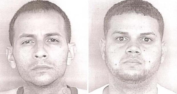 Héctor Valentín Pagán y Elisaul Medina La Santa. (Suministrada / Policía de Puerto Rico)