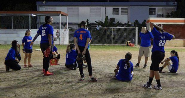 Las Bucaneras de Arroyo se han preparado arduamente para la temporada 2017.