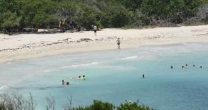 La Playuela, mejor conocida como Playa Sucia, en Cabo Rojo. (Voces del Sur)