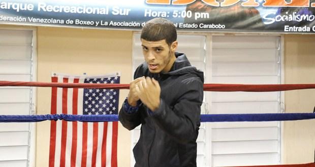 José Bartolomei Santiago, boxeador juanadino. (Voces del Sur)