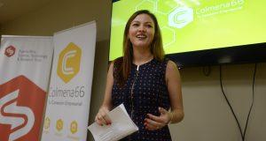 Denisse Rodríguez Colón, directora de Colmena66, destacó la importancia de desarrollar un ecosistema empresarial robusto.