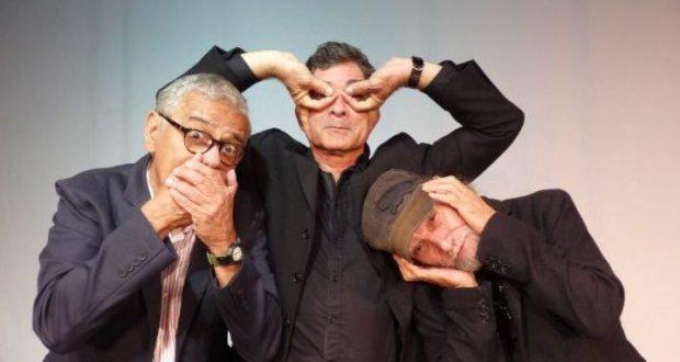 """El actor ponceño Ángel """"Papo"""" Vázquez protagoniza la pieza junto al pianista Carlos """"Tato"""" Santiago e Irving García."""