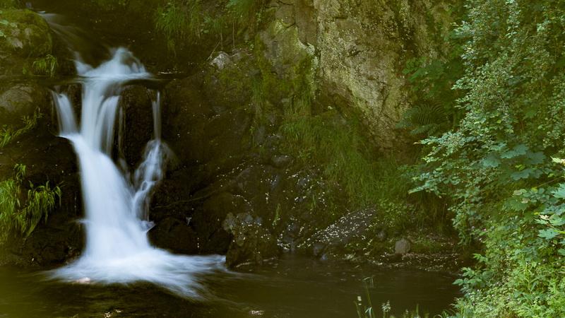 Nidda Wasserfall