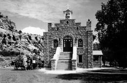 The church at Keams Canyon.
